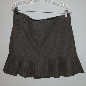 GAP, Gray Wool Mini Skirt, Sz 12